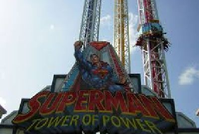 superman tower of power accident